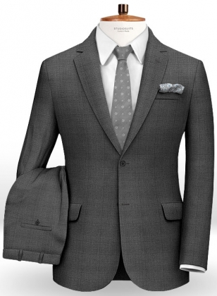 Prince Wool Gray Suit