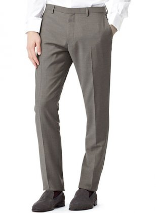 Scabal Wool Pants - Pre Set Sizes - Quick Order