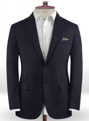 Caccioppoli Dapper Dandy Chillo Dark Blue Jacket
