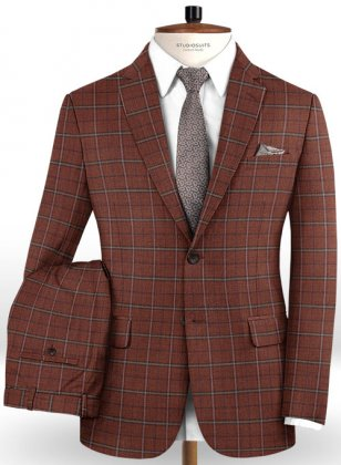 Italian Wool Cashmere Necto Suit