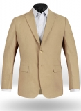 Tropical Tan Linen Jacket