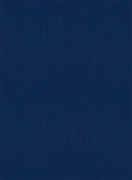 Scabal Prussian Blue Wool Suit
