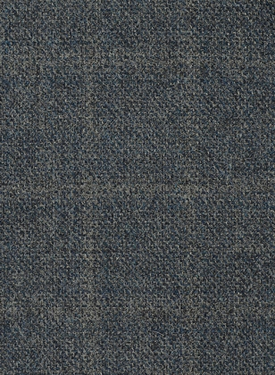 Vintage Milan Blue Tweed Suit