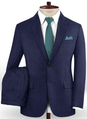 Caccioppoli Dapper Dandy Olierr Blue Suit