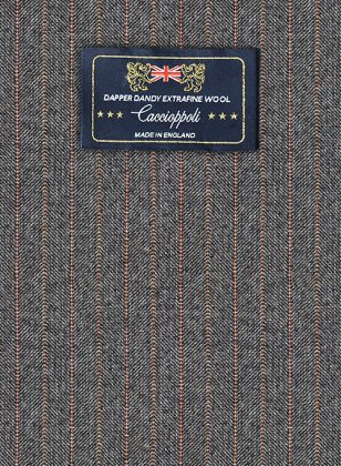 Caccioppoli Dapper Dandy Ichini Club Blue Suit