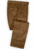 Camel Thick Corduroy Pants