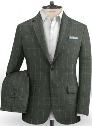 Solbiati Linen Wool Silk Natty Suit