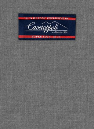 Caccioppoli Sun Dream Gray Suit