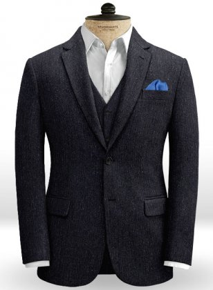 Stripeshire Midnight Tweed Jacket