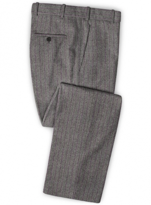 Bologna Tweed Gray Pants