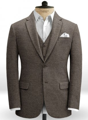 Carre Brown Tweed Jacket
