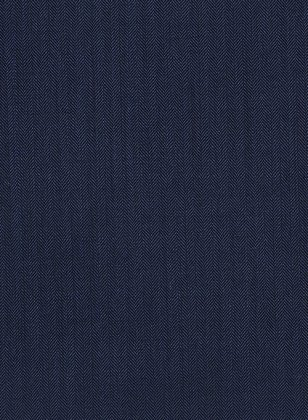 Herringbone Wool Royal Blue Suit