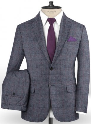Caccioppoli Dapper Dandy Lionni Blue Suit