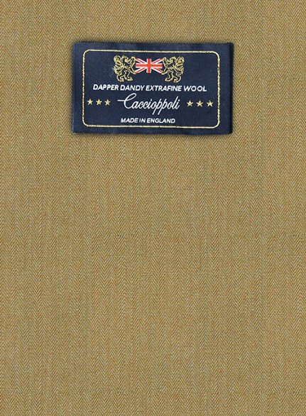 Caccioppoli Dapper Dandy Cerez Wool Suit