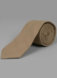 Linen Tie - Tropical Dark Beige