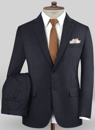Caccioppoli Sun Dream Navy Blue Suit