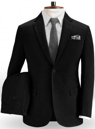 Black Chino Suit