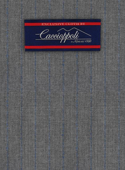 Caccioppoli Wool Gray Savi Suit