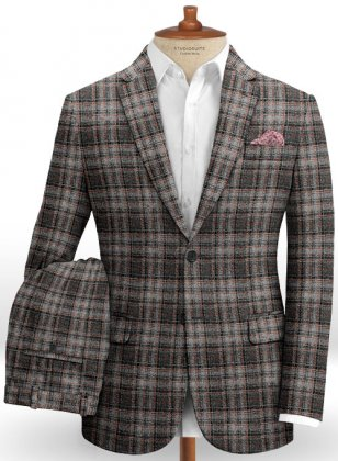 Harris Tweed Tartan Gray Suit