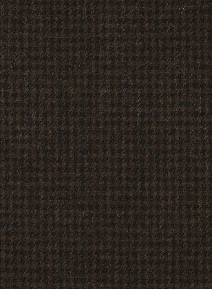 Houndstooth Dark Brown Tweed Jacket