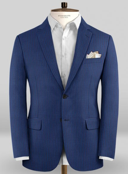 Caccioppoli Sun Dream Calgio Royal Blue Jacket