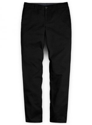 Washed Heavy Black Chinos