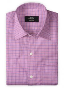 Giza Punch Pink Cotton Shirt