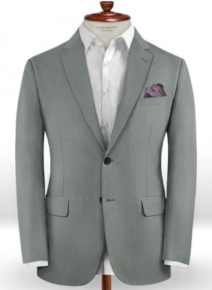 Scabal Lordii Gray Wool Jacket
