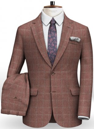 Cashmere Flannel Para Wool Suit