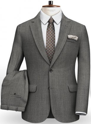 Italian Wool Silk Abbo Suit