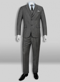 Reda Pret Dark Gray Pure Wool Suit