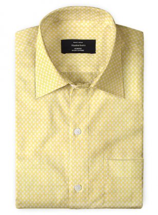 Giza Y Checks Cotton Shirt