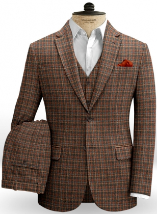Millport Checks Tweed Suit