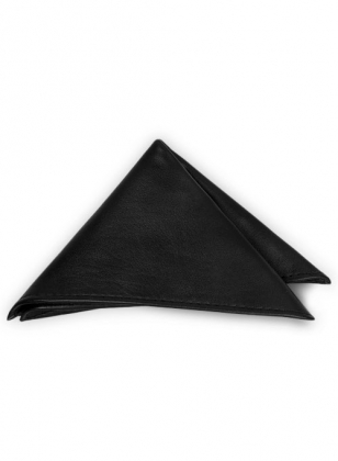 Leather Pocket Square