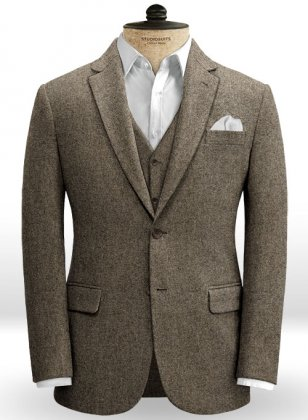 Dapper Brown Tweed Jacket