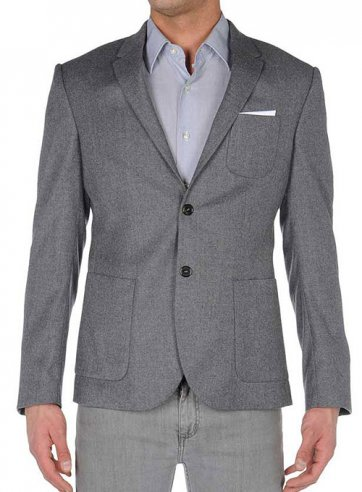 Patch Pocket Style Jacket