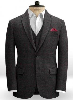 Bristol Charcoal Tweed Jacket