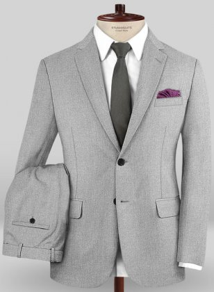 Caccioppoli Sun Dream Light Gray Suit