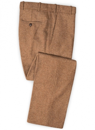 Spring Rust Tweed Pants