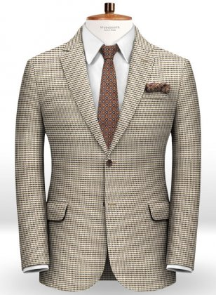 Italian Wool Silk Modero Jacket
