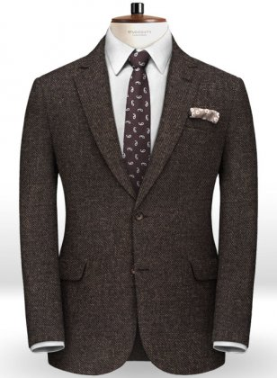 Italian Tweed Lampo Jacket