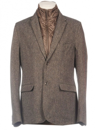 Pure Wool Tweed Jacket - Express Delivery