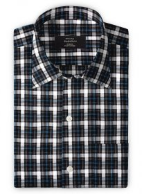 Giza Ola Black Cotton Shirt