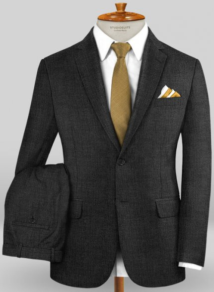 Caccioppoli Wool Gray Delofo Suit