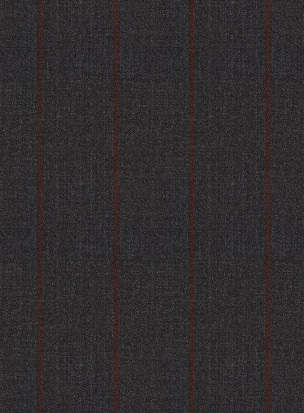 Napolean Rodrio Charcoal Wool Suit