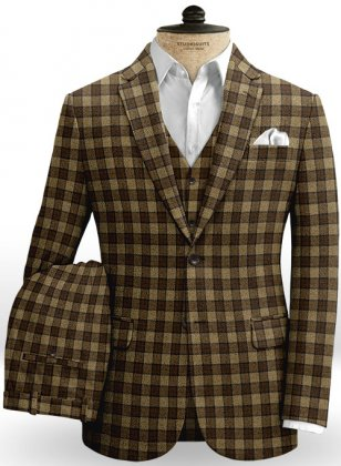 Portree Checks Tweed Suit