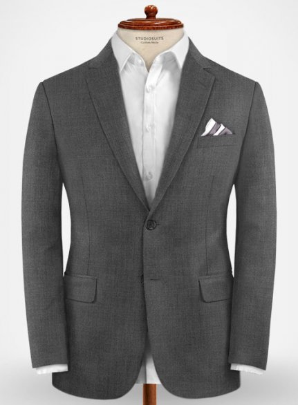 Zegna Traveller Gray Wool Jacket