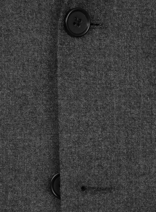 Charcoal Flannel Wool Suit