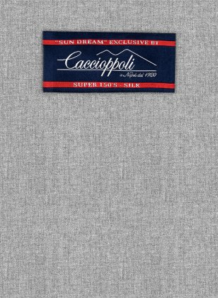 Caccioppoli Sun Dream Light Gray Jacket