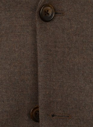 Light Weight Dark Brown Tweed Jacket
